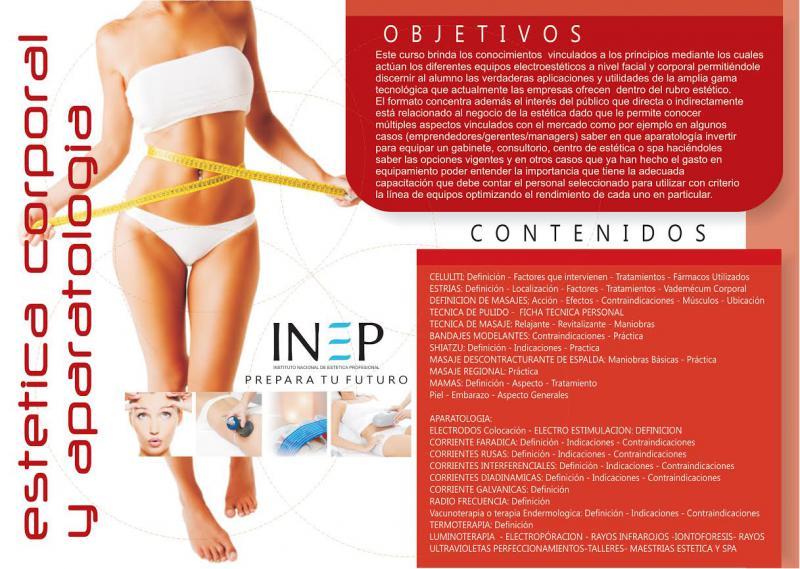 Carrera de Estética Corporal y Apareatología