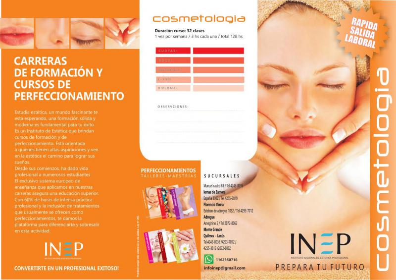 Carrera de cosmetología integral