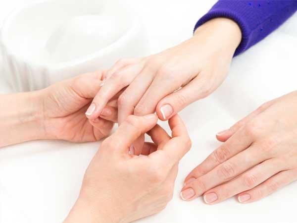 Curso de belleza de manos y pies